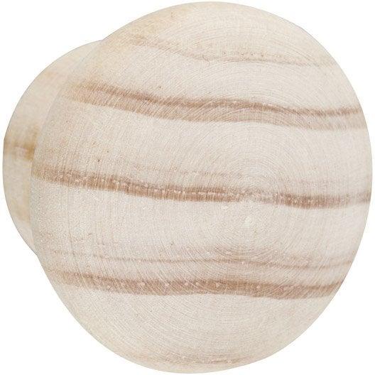 Bouton de meuble pin bois brut leroy merlin - Produit interieur brut meubles ...