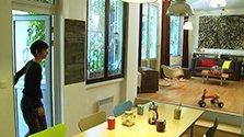 Atelier rénové en maison de ville