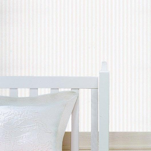 Papier peint papier rayure gris leroy merlin - Prix pose papier peint sans fourniture ...