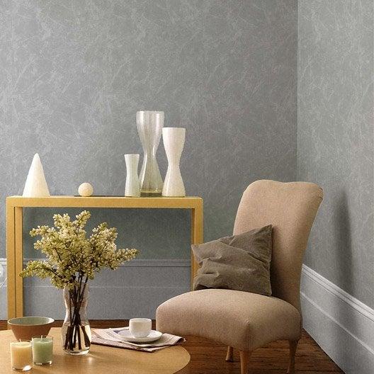 papier peint vinyle expans sur intiss valence gris. Black Bedroom Furniture Sets. Home Design Ideas