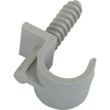 Clip simple, Diam.20 à 25 mm, L.55 mm