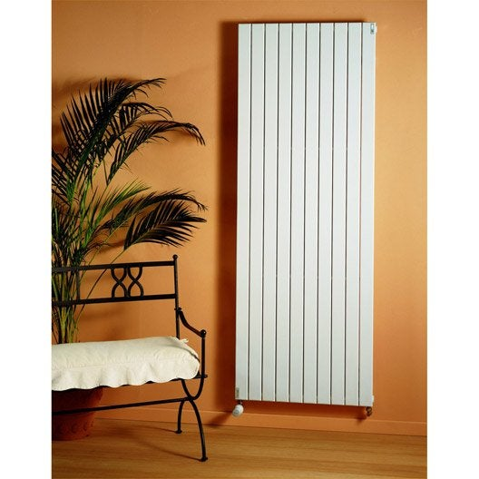 radiateur chauffage central lina blanc cm 1240 w leroy merlin. Black Bedroom Furniture Sets. Home Design Ideas