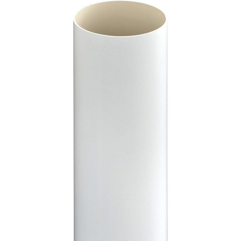 Tuyau De Descente Pvc Blanc Diam80 Mm L28 M Girpi