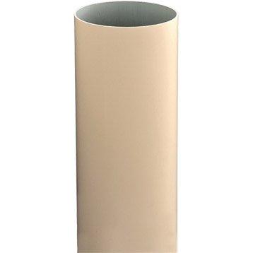 Tuyau de descente PVC sable Diam.80 mm L.4 m GIRPI