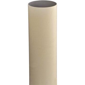Tuyau de descente PVC sable Diam.80 mm L.2.8 m GIRPI