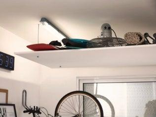 Réaliser un plafond suspendu pour rangement