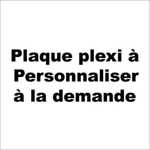 Plaque personnaliser plexiglass en plastique leroy merlin - Plaque plastique leroy merlin ...