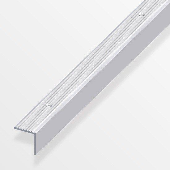 nez de marche aluminium anodis l 1 m x l 1 9 cm x h 2 cm. Black Bedroom Furniture Sets. Home Design Ideas