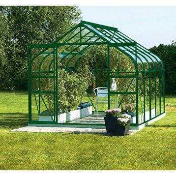 Serre EGT Diana 8300 verre horticole, 8.25 m²