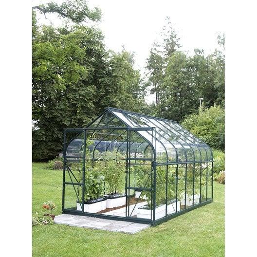 Serre de jardin verre hoticole protection et soin des - Serre souple de jardin ...