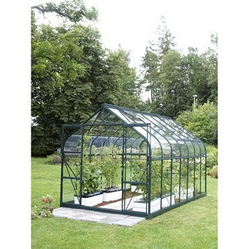 Serre EGT Diana 9900 verre horticole, 9.843 m²