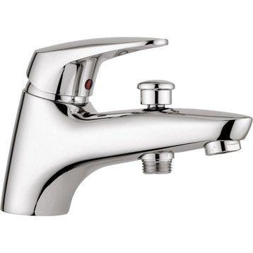 Robinet de baignoire robinet de salle de bains leroy - Fonctionnement d un robinet thermostatique ...