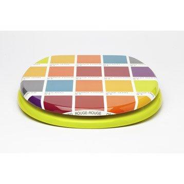 Abattant multicolore Color