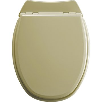 Abattant WC SENSEA Lyrica beige
