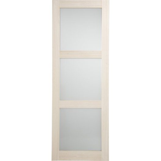 Porte interieur 83 cm luxe lot de listels en inox artenz for Porte interieur leroy merlin prix