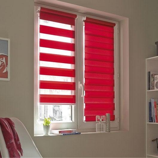store enrouleur jour nuit inspire rouge 41x160 cm. Black Bedroom Furniture Sets. Home Design Ideas