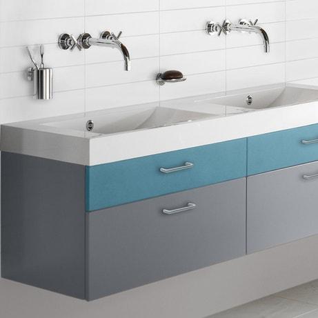 Un relooking de meuble de salle de bains avec peinture Décolab