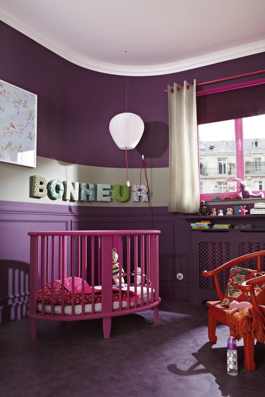 Une chambre de bébé au ton rosé | Leroy Merlin