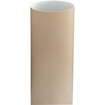 Tuyau de descente PVC sable Diam.100 mm L.2.8 m GIRPI