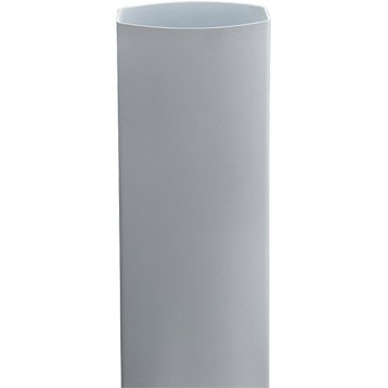 Tuyau de descente PVC blanc Diam.90x56 mm L.3 m GIRPI
