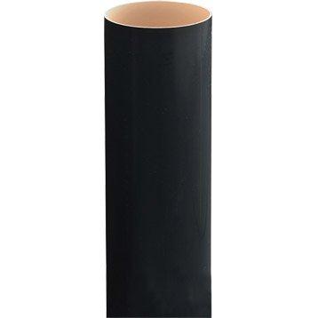 Tuyau de descente PVC noir Diam.80 mm L.4 m GIRPI