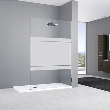 paroi de douche l 39 italienne leroy merlin. Black Bedroom Furniture Sets. Home Design Ideas