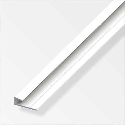 cimaise aluminium poxy l 2 m x l 2 5 cm x h 2 5 cm. Black Bedroom Furniture Sets. Home Design Ideas