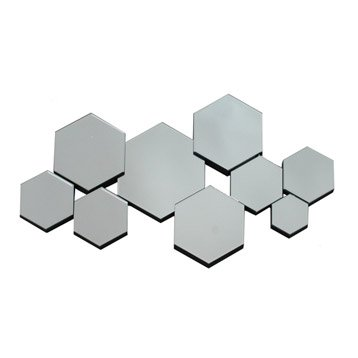 Miroir design industriel miroir mural sur pied leroy for Miroir geometrique