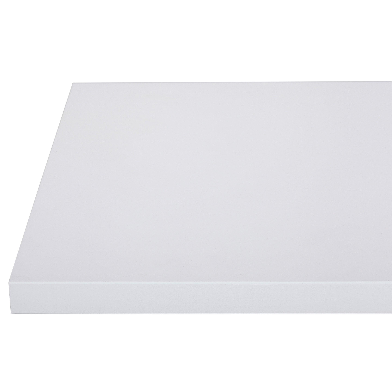 Plan de travail stratifié Mat edition blanc Mat L.315 x P.65 cm, Ep.16 mm