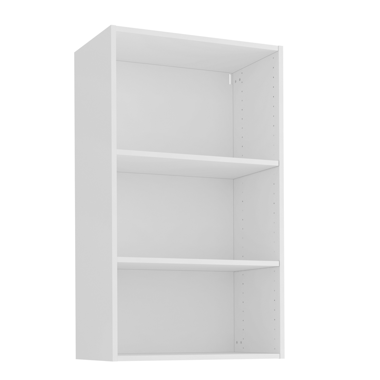 Caisson de cuisine haut DELINIA ID, blanc H.12.12 x l.12 x P.12 cm
