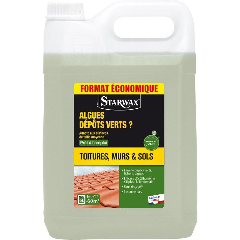 Traitement Anti Dépots Verts Starwax 6 L
