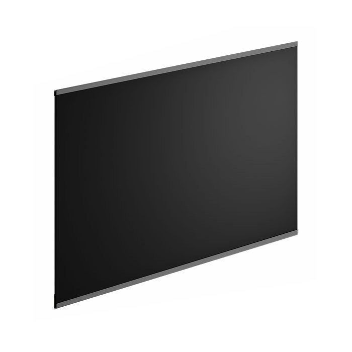 Crédence verre Rio noir H.45 cm x Ep.5 mm x L.60 cm