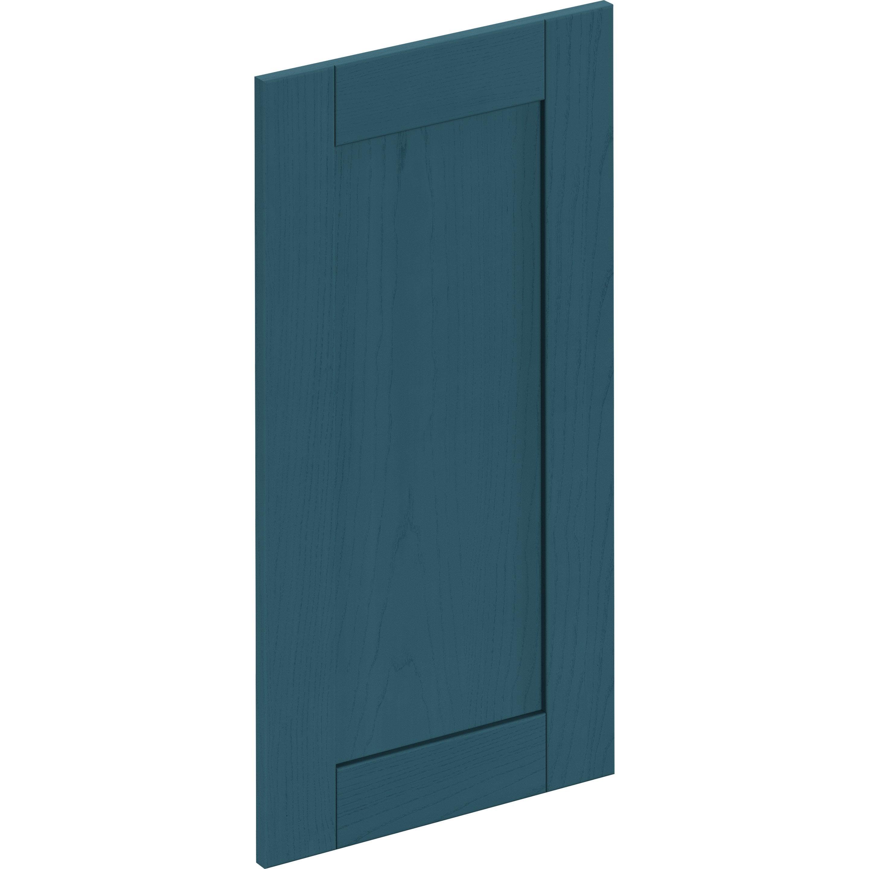 Porte de cuisine Chicago bleu, DELINIA ID H.76.8 x l.39.7 cm