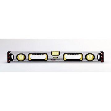 Niveau tubulaire aluminium STANLEY, 90 cm