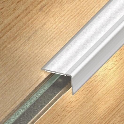 Nez De Marche Aluminium Anodis 233 Gris L 110 X L 3 6 Cm