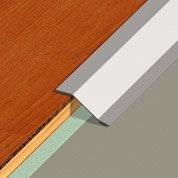 Barre de seuil inox gris L.93 x l.5 cm