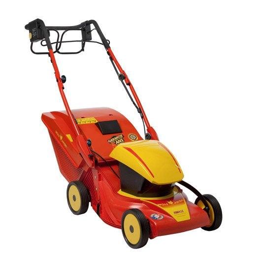 Tondeuse tracteur autoport e robot outils pour tondre for Outils jardinage wolf prix