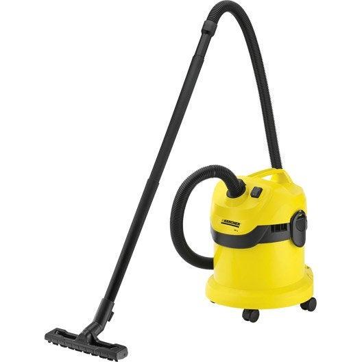 aspirateur eau et poussières karcher wd2, 20 kpa , 12 l | leroy merlin