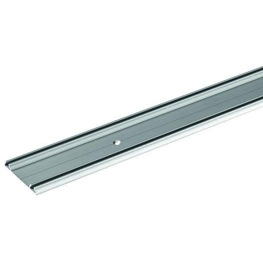 rail aluminium pour placards hettich leroy merlin. Black Bedroom Furniture Sets. Home Design Ideas
