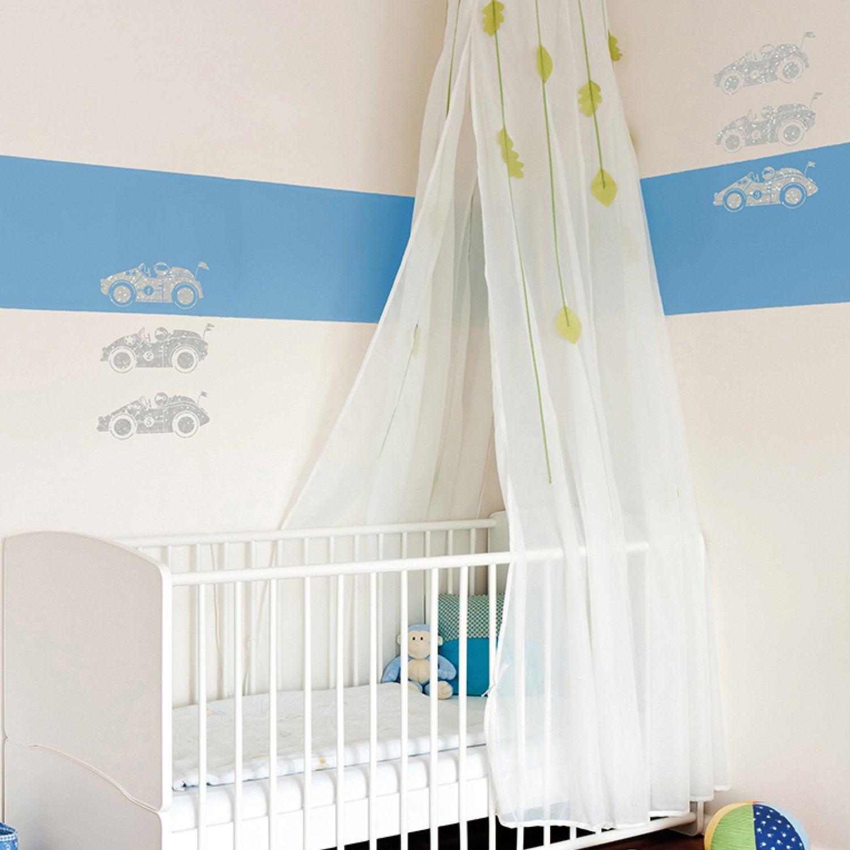 Agreable Décorer Les Murs De La Chambre De Bébé Avec Ce Pochoir Petites Voitures De  Courses