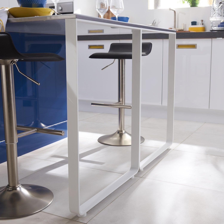 Plinthe De Cuisine Bleu Nuit Graphic L 270 X H 14 9 Cm Leroy Merlin