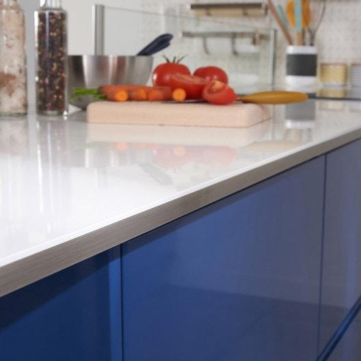 3 tiroirs de cuisine bleu nuit graphic x x cm leroy merlin. Black Bedroom Furniture Sets. Home Design Ideas