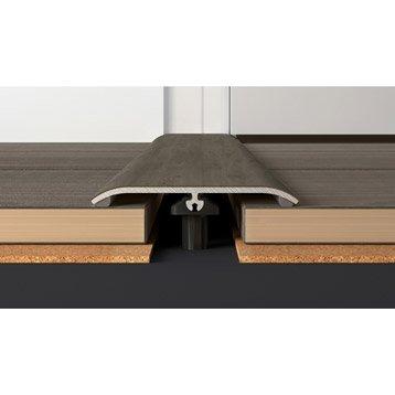 Barre de seuil décor n° 140 pour stratifié / pvc, L.93 cm x l.48 mm