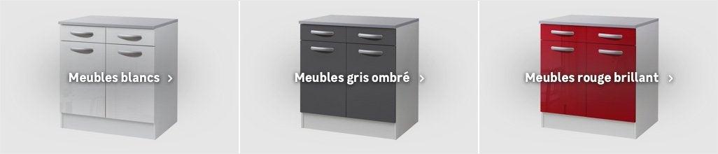 Meuble De Cuisine 1er Prix Spring Meuble Haut Bas Et Sous Evier