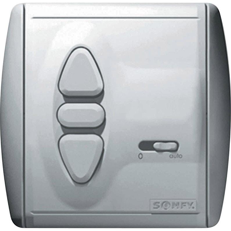 Interrupteur Horloge Radio Rts Somfy 2400850 Leroy Merlin