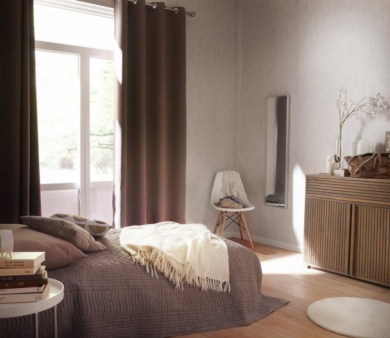 Des doubles rideaux pour chambre d 39 adulte leroy merlin - Rideaux pour chambre ...
