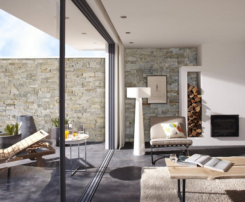 Des murs originaux for Murs exterieurs terrasse