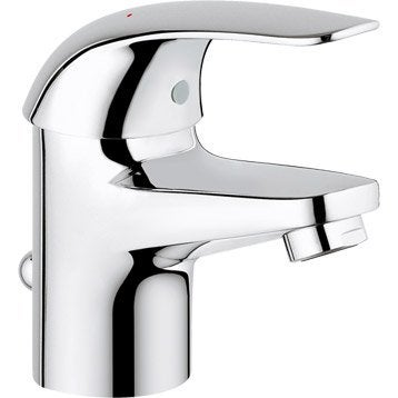 Mitigeur lavabo chromé, GROHE Swift