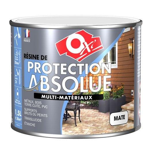 R sine ext rieur int rieur oxytol leroy merlin for Peinture resine exterieur