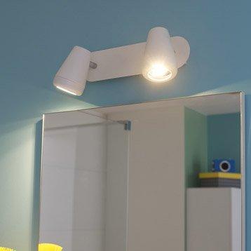 Rampe 2 spots Manta, LED 2 x 4.5 W, GU10 blanc chaud